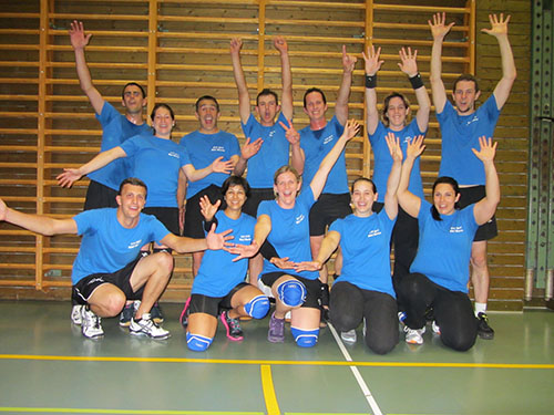 Volley Mixed: Turnfestsieger 2014